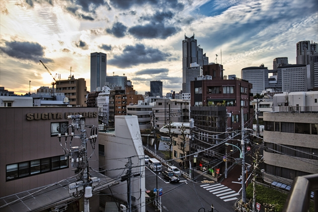 The late lost Japan and Tokyo.